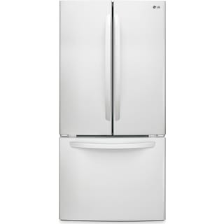 LG White French Door Refrigerator (23.9 Cut. Ft.) - LFC24786SW