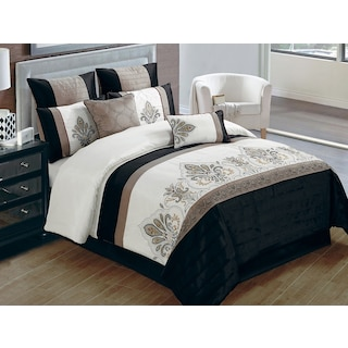 Haltwhistle 8-Piece King Comforter Set