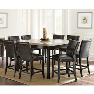 Dursley 7-Piece Counter-Height Dining Package