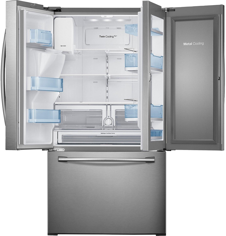 1500 #466A85  28 Cu. Ft. 3 Door Refrigerator – Stainless Steel Furniture.ca picture/photo Discount Steel Entry Doors 40091440