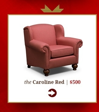 Caroline Red Accent Chair