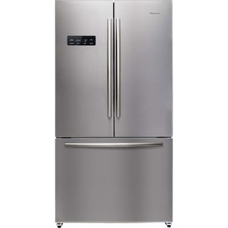 Hisense 20.3 Cu. Ft. French-Door Refrigerator – Stainless Steel