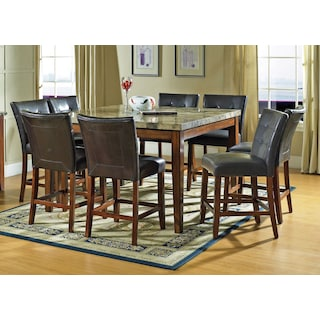 Dursley 9-Piece Pub-Height Dining Package