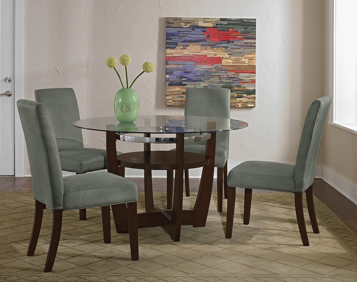 Dining Room Furniture - The Daly Sage Collection - Table