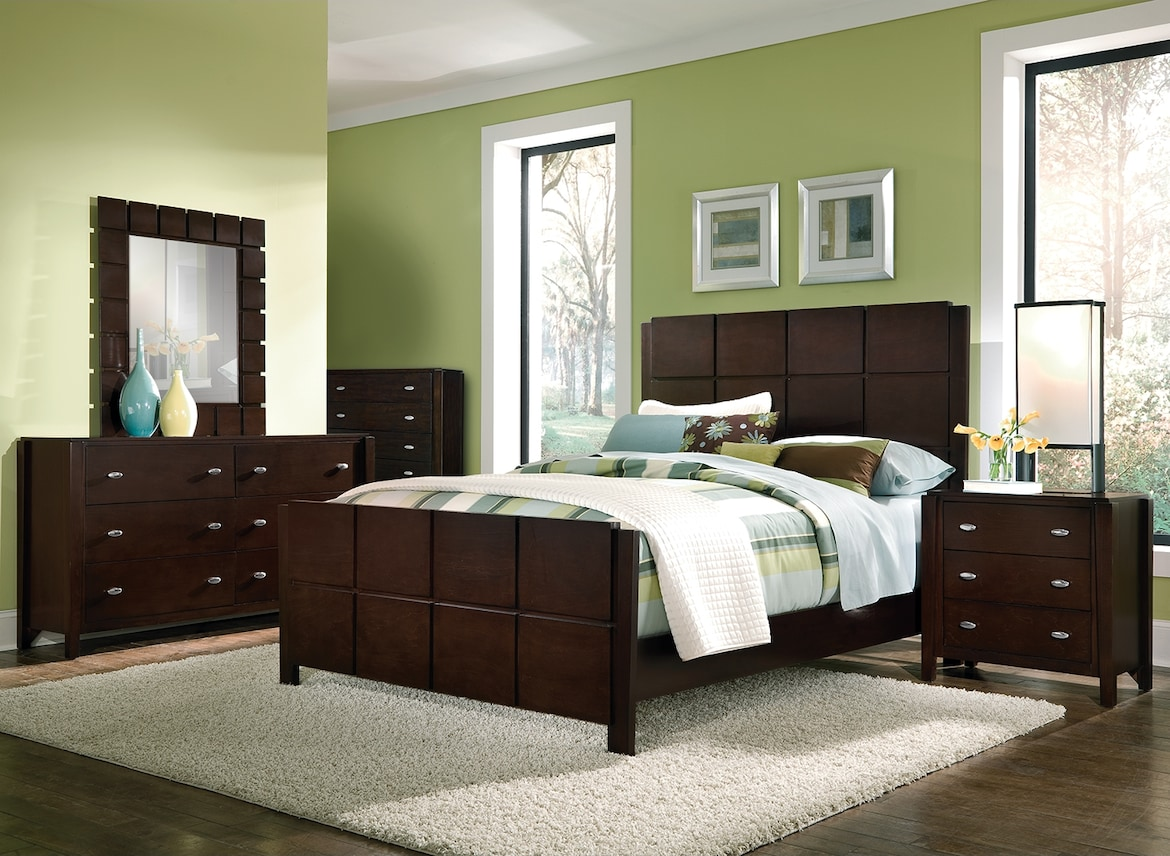 Bedroom Furniture - The Palladia Collection - Queen Bed