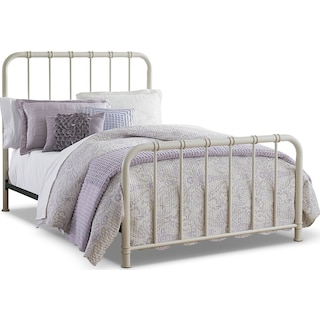 Govan White Twin Bed