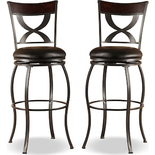 Bochem 2-Pack Counter-Height Stools