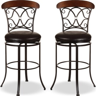 Acomb 2-Pack Counter-Height Stools