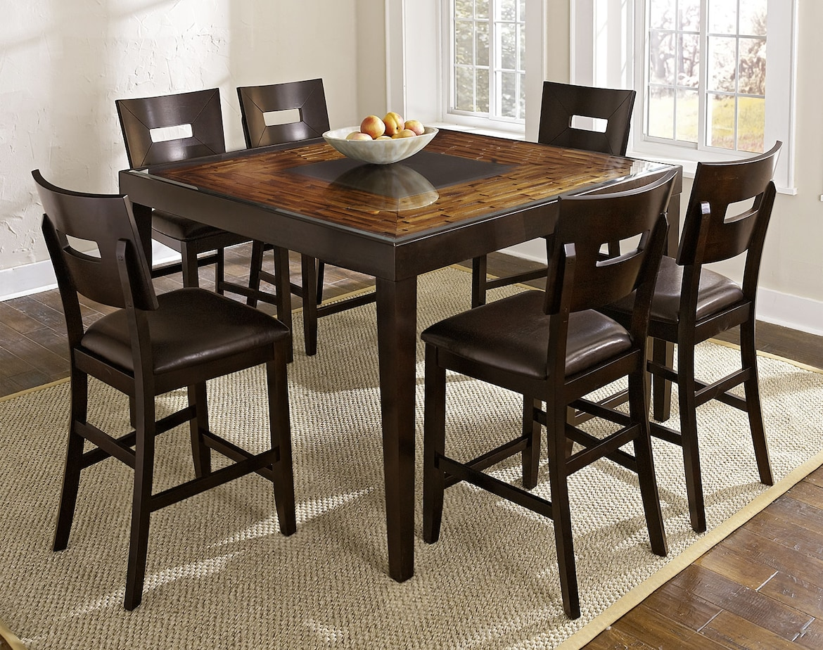 Dining Room Furniture - The Blake II Collection - Counter-Height Table