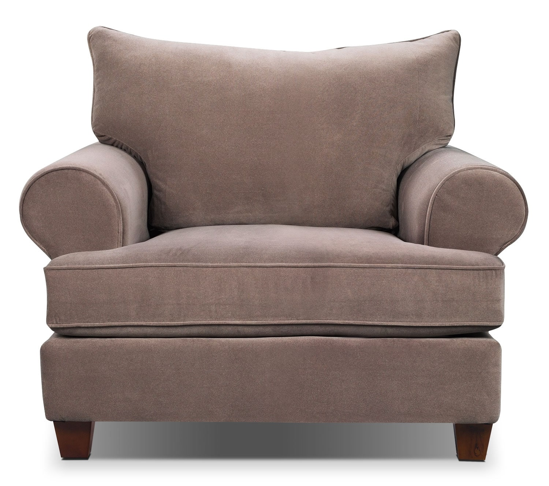 Living Room Furniture - Prescot Chair - Stone