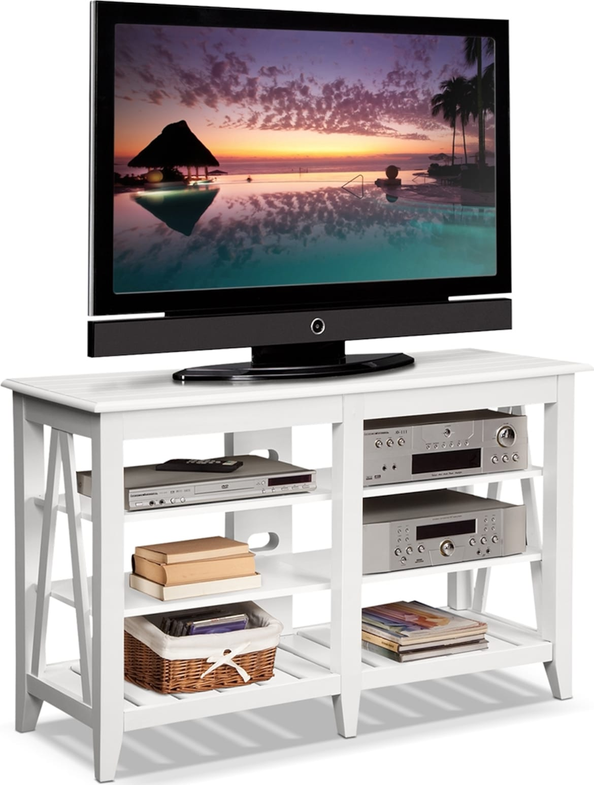 Entertainment Furniture - The Magnolia Collection - TV Stand