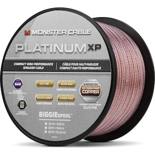 Monster® Platinum XP® Compact Speaker Cable MKIII - 15.24 m