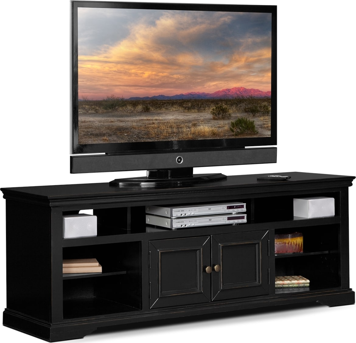 "Entertainment Furniture - The Thornton Collection - 70"" TV Stand"