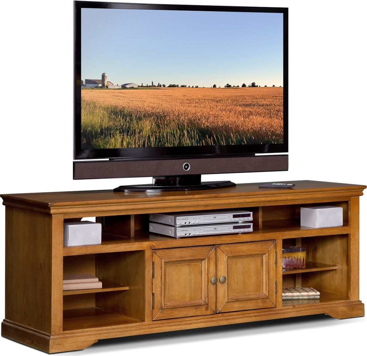 "Entertainment Furniture - The Thornton II Collection - 70"" TV Stand"