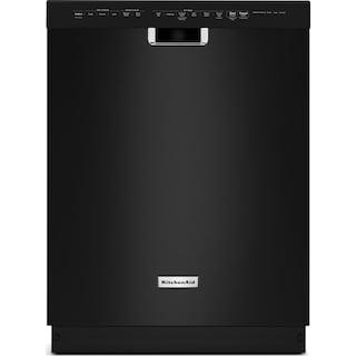 """KitchenAid 24"""" Dishwasher with ProWash™ Cycle – Black"""