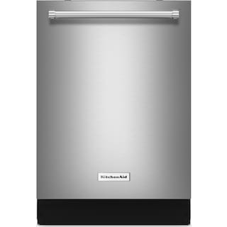 """KitchenAid 24"""" Dishwasher with Clean Water Wash System - Stainless Steel"""