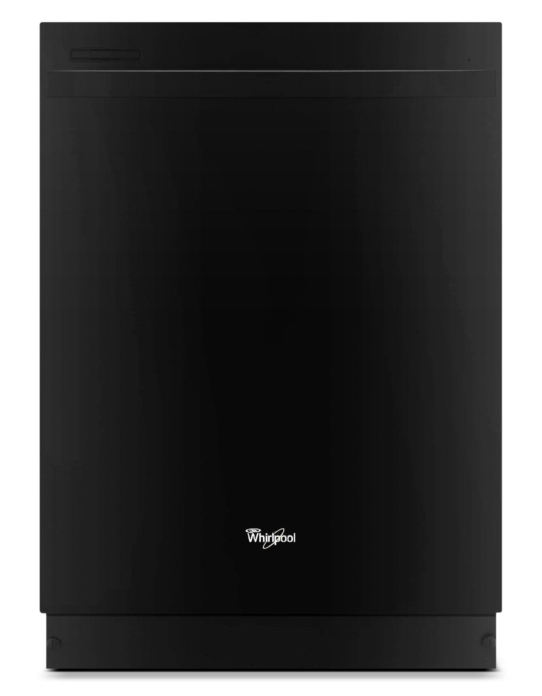 "Clean-Up - Whirlpool Black 24"" Dishwasher - WDT720PADB"