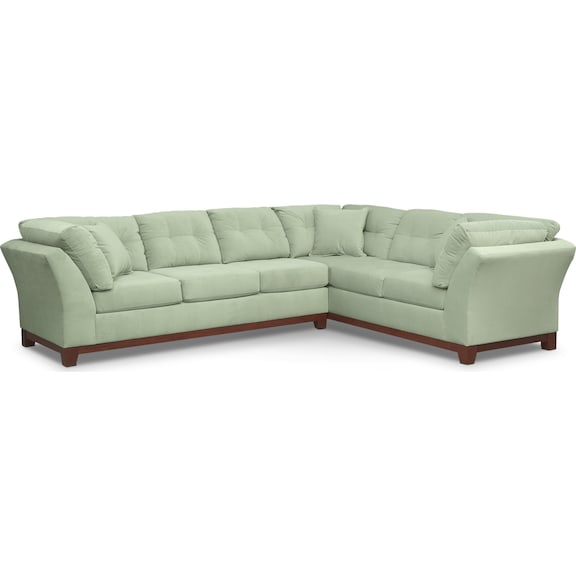 Living Room Furniture - Brookside II Spa 2 Pc. Sectional (Reverse)