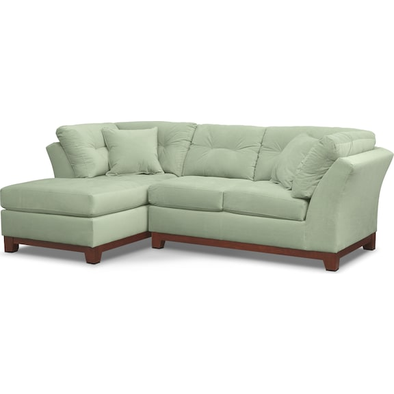 Living Room Furniture - Brookside II Spa 2 Pc. Sectional (Alternate)