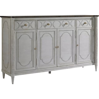 East Battery Buffet - Gray Linen
