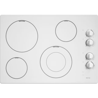 """Maytag 30"""" Electric Cooktop with Speed Heat Element - MEC7430BSW"""