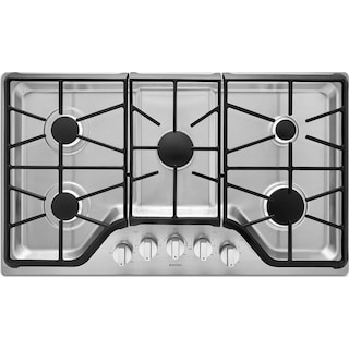 """Maytag 36"""" Gas Cooktop – MGC9536DS"""