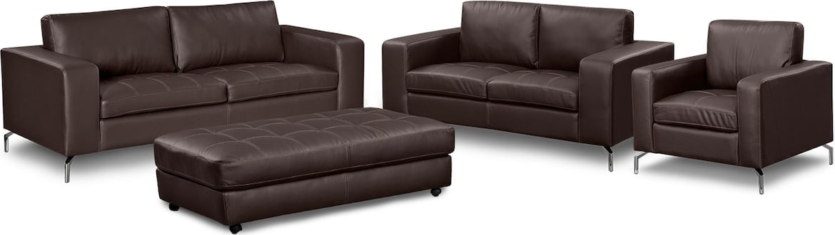 Living Room Furniture - The Mirage Godiva Collection - Sofa