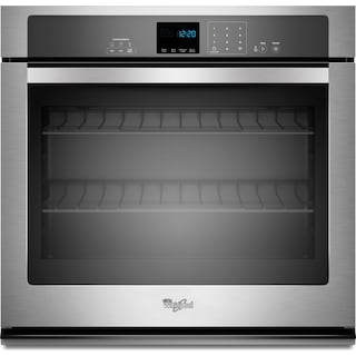 Whirlpool 4.3 Cu. Ft. Single Wall Oven – WOS51EC7AS