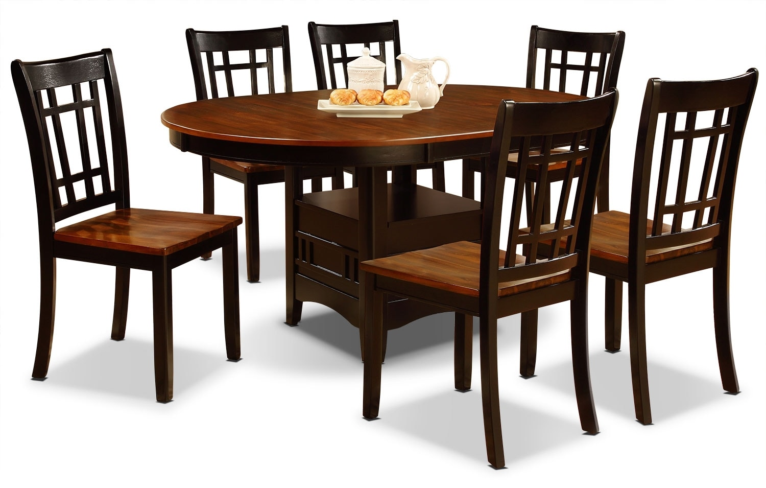Carigan 7 Piece Dining Package