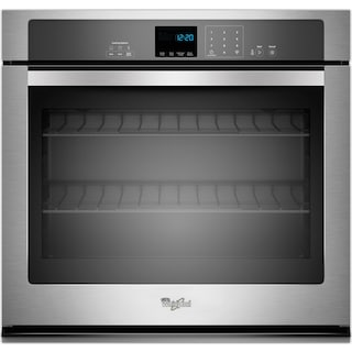 Whirlpool 5.0 Cu. Ft. Single Wall Oven – WOS51EC0AS