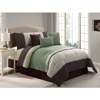 Stapleford 7-Piece King Comforter Set