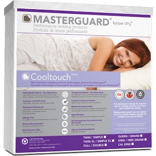 Masterguard® CoolTouch™ Twin Mattress Pad