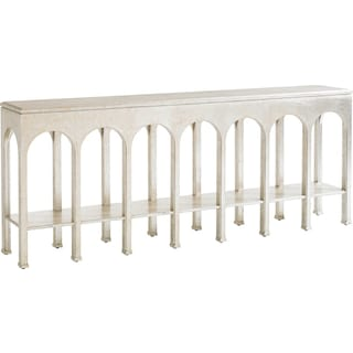 Crestaire Brooks Console Table -Argent
