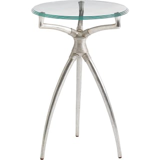 Crestaire Hovely Martini Table - Argent