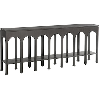 Crestaire Brooks Console Table - Flint