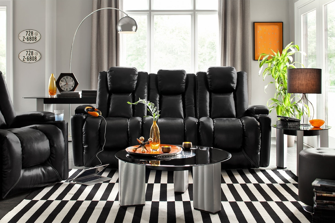 Living Room Furniture - The Frisco Collection - Power Reclining Sofa