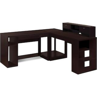 Ferndown 4-Piece Desk Package