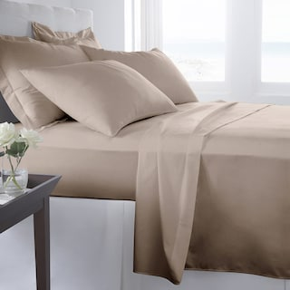 Haldor 4-Piece King Sheet Set - Taupe