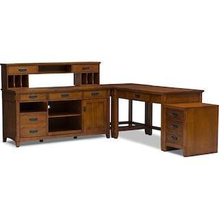 Aldeburgh 5-Piece Desk Package