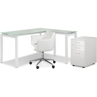 Dovercourt 3-Piece Home Office Package