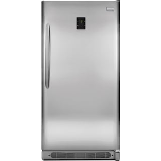 Frigidaire Gallery Stainless Steel 2-in-1 Upright Freezer (16.6 Cu. Ft.) - FGVU17F8QF