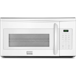 Frigidaire Gallery White Over-the-Range Microwave (1.7 Cu. Ft.) - CGMV175QW