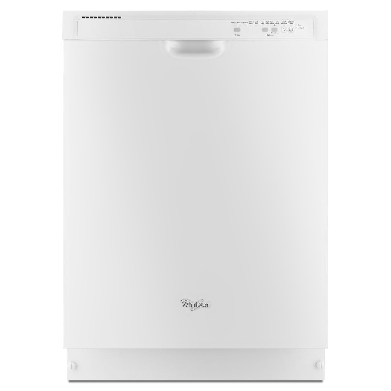 Clean-Up - Whirlpool Dishwasher WDF540PADW