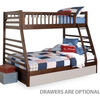 Galaxy Bunk Bed Set - Chocolate Cherry