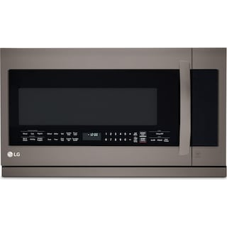 LG Black Stainless Steel Over-the-Range Microwave