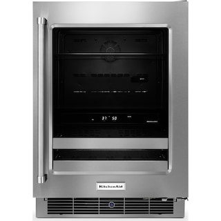 KitchenAid 4.8 Cu. Ft. Beverage Centre with Right-Door Swing – Stainless Steel