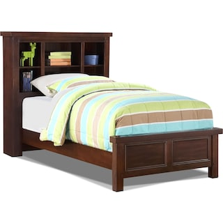 Darlington Full Bookcase Bed