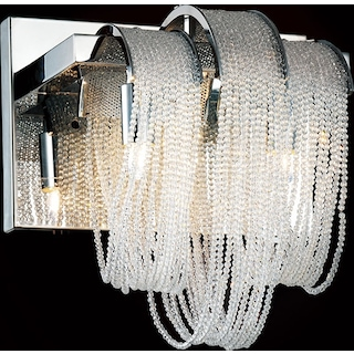 Engaged-Two Light Wall Sconce