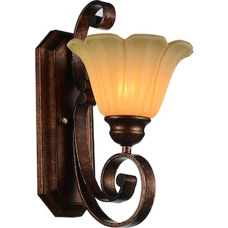 Victoria-One Light Wall Sconce