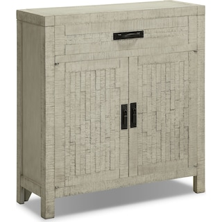 Asger Accent Cabinet - White